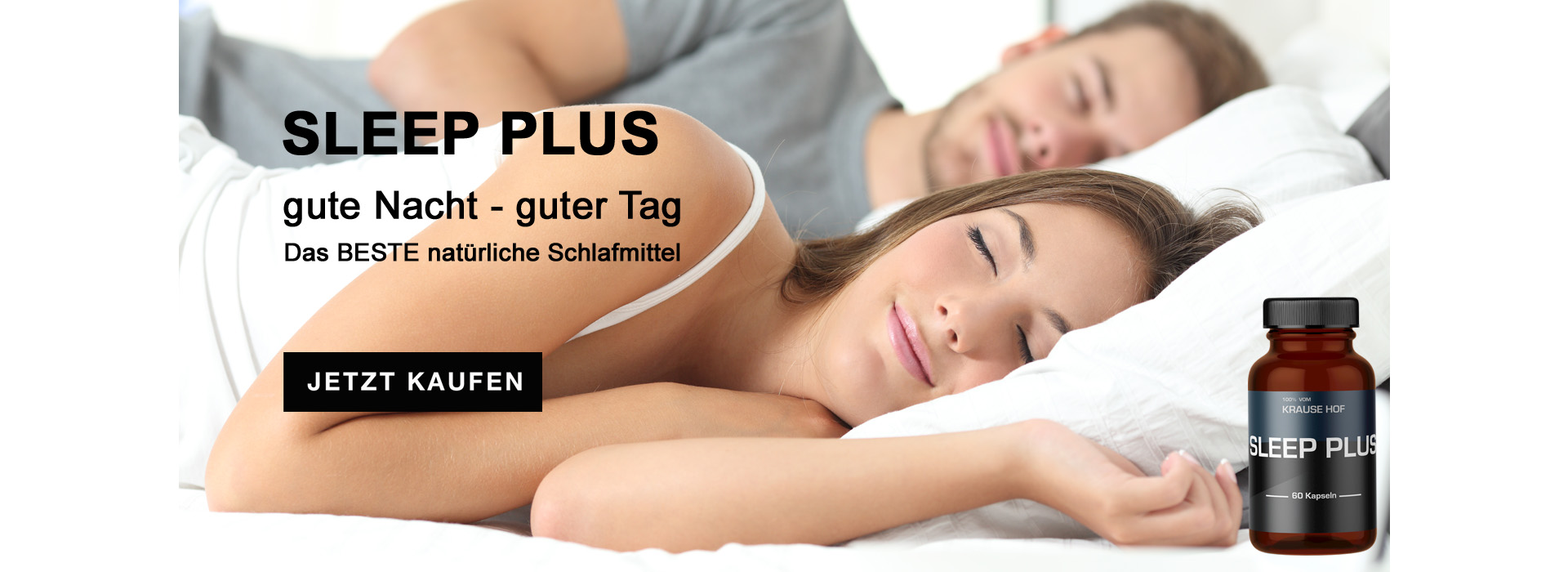 Sleep Plus Banner