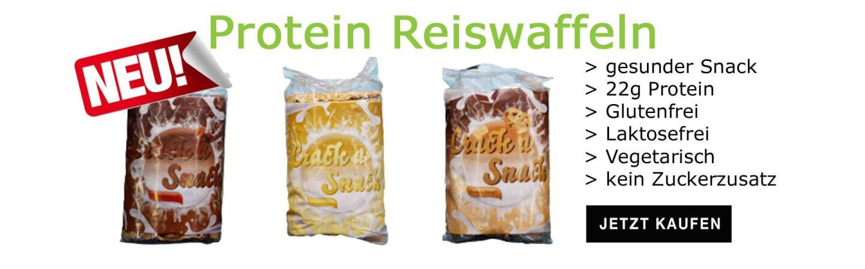 Reiswaffeln mit Protein