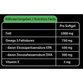 Omega 3 Softgel 350 Kapseln