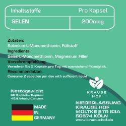 Selen  BIO Krause Hof  90 Kapseln